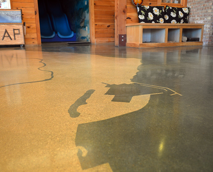 Sustainability Polished Concrete Wisconsin Floorcare Usa